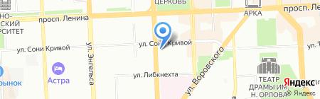 iCentre на карте Челябинска