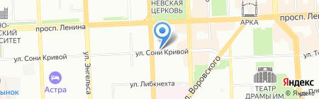 Tele2 на карте Челябинска