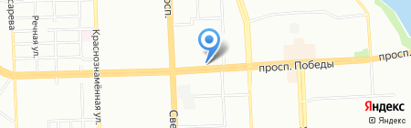 Ниссо на карте Челябинска