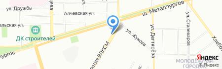 Шаурма 24 на карте Челябинска