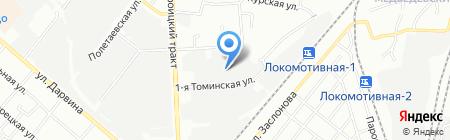 Оптдорс на карте Челябинска
