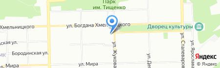Наслаждайся на карте Челябинска