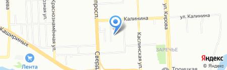 Отдел надзорной деятельности №3 г. Челябинска на карте Челябинска