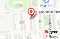 Схема проезда до компании Инросмет в Челябинске