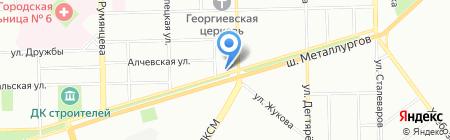 Исток-Фарма на карте Челябинска