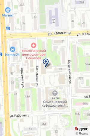 3 ПОЖАРНАЯ ЧАСТЬ (3ПЧ) на карте Челябинска