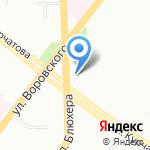Дубровские колбасы на карте Челябинска