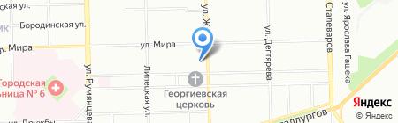 Стимул на карте Челябинска