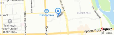 Спортивный зал на карте Челябинска
