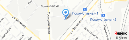 ПластМет на карте Челябинска