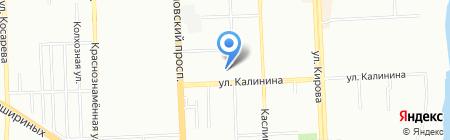 Средняя общеобразовательная школа №5 на карте Челябинска
