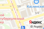 Схема проезда до компании Центр дерева в Челябинске