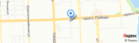 Проект на карте Челябинска