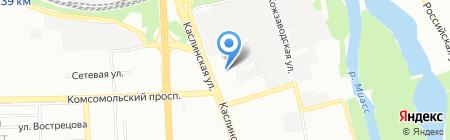 РиэлтСтройком на карте Челябинска
