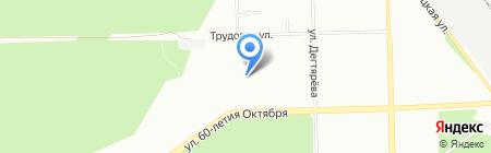 Детский сад №192 на карте Челябинска
