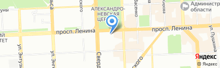 Elena Miro на карте Челябинска