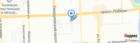 Евростиль на карте Челябинска
