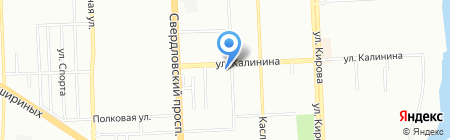 Кадастровый инженер Лазарев Д.Л. на карте Челябинска