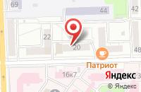 Схема проезда до компании Челкарт в Челябинске
