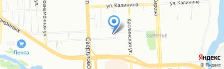 Челябинское епархиальное управление на карте Челябинска