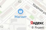 Схема проезда до компании Первая Фабрика Фасадов в Челябинске