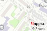 Схема проезда до компании Русские Финансы в Челябинске