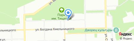 Шерхан на карте Челябинска