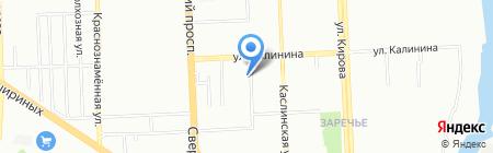 Макинтош на карте Челябинска