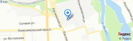 Оркестр Техно на карте Челябинска