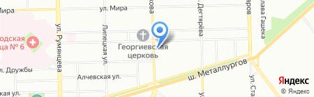 Terabyte на карте Челябинска
