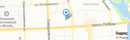Искра на карте Челябинска