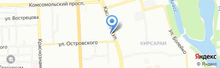 Урал-системы безопасности на карте Челябинска