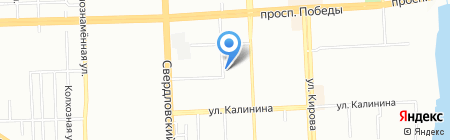 НОРТ ФОКС на карте Челябинска