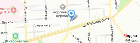Мастер-Дент на карте Челябинска