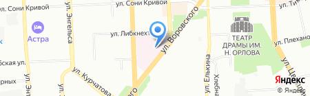 Банкомат СМП Банк ОАО Северный морской путь на карте Челябинска