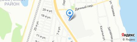 Лидер на карте Челябинска