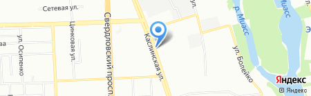 ВиноГрад на карте Челябинска