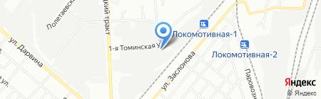 Scaner на карте Челябинска