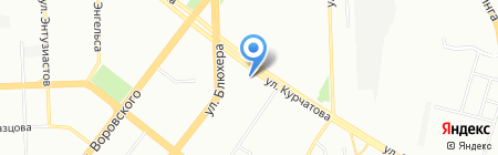 ЧКТ на карте Челябинска