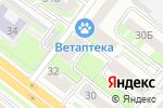 Схема проезда до компании Урало-Сибирский центр экспертизы в Челябинске