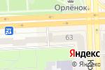 Схема проезда до компании CLUB CREA`TIF PROFESSIONAL в Челябинске
