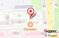 Схема проезда до компании Ассоциация Офицеров Спецслужб Высшего и Старшего Состава в Челябинске