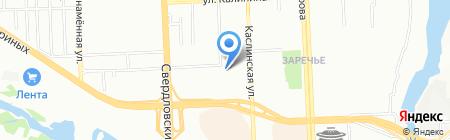 Кайрос на карте Челябинска