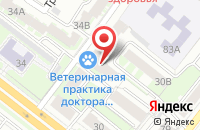 Схема проезда до компании Тринити-Про в Челябинске