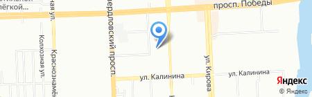 Призывной пункт на карте Челябинска