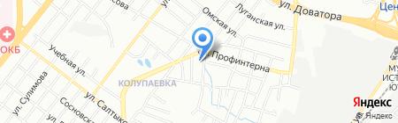 Теплиссимо на карте Челябинска