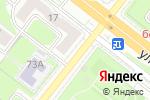 Схема проезда до компании Ярмарка недвижимости в Челябинске