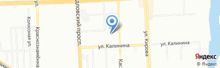 Детский сад №308 на карте Челябинска