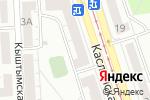 Схема проезда до компании Tokenweb в Челябинске