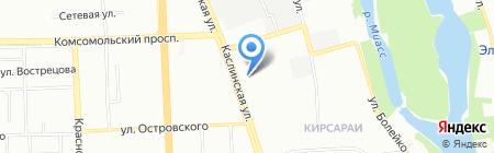 Wedu на карте Челябинска